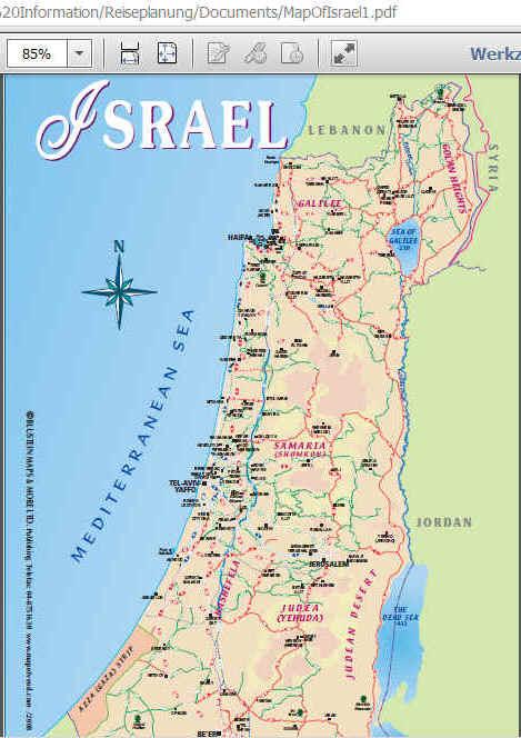 Israel Karte.Karten Palästina Ist Verschwunden